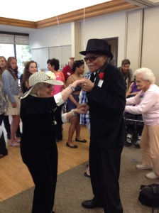 Dancing and music at the InnovAge Johnson Adult Day Program.