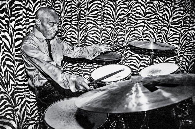 Roy Haynes, 85, is a jazz drummer.